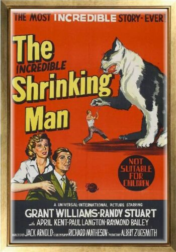 MAGNET Movie Poster Photo Magnet INCREDIBLE SHRINKING MAN 1957 Grant Williams