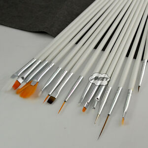 15pcs-Professional-Nail-Art-Painting-Drawing-Manicure-Brush-Eye-Shadow-Brushes