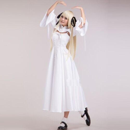 Yosuga no Sora Kasugano Sora Cosplay Costume Lolita Dress With Hairwear