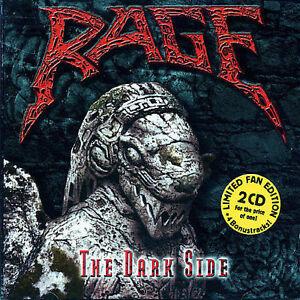 RAGE-Dark-Side-Black-In-Mind-End-Of-All-Days-2CD-32-trks-SEALED-2002-GUN-Ger