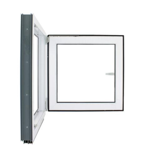 Finestre in PVC Bianco Aluplast 4000  L:500 x A:600  Vetro basso emissivo