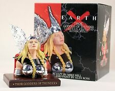 Marvel Female Thor Goddess of Thunder Bust Statue Earth X by Alex Ross NIB