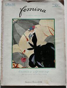 20s vintage Paris hats French millinery Feminia fashion magazine Lucile 1921