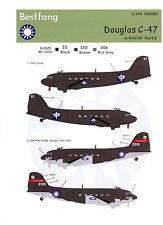 Bestfong Decals 1/144 DOUGLAS C-47 DAKOTA Chinese Air Force