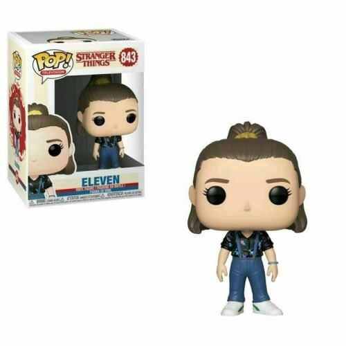 Stranger Things Pop Funko Eleven w// Overalls n°843 Box Lievemente danneggiato