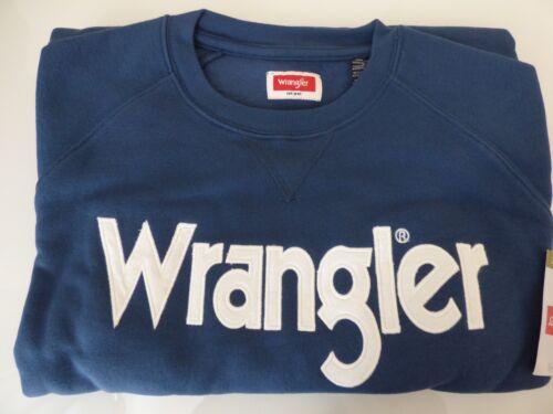 Wrangler Sweatshirt Crew Neck Men/'s Size S-3XL