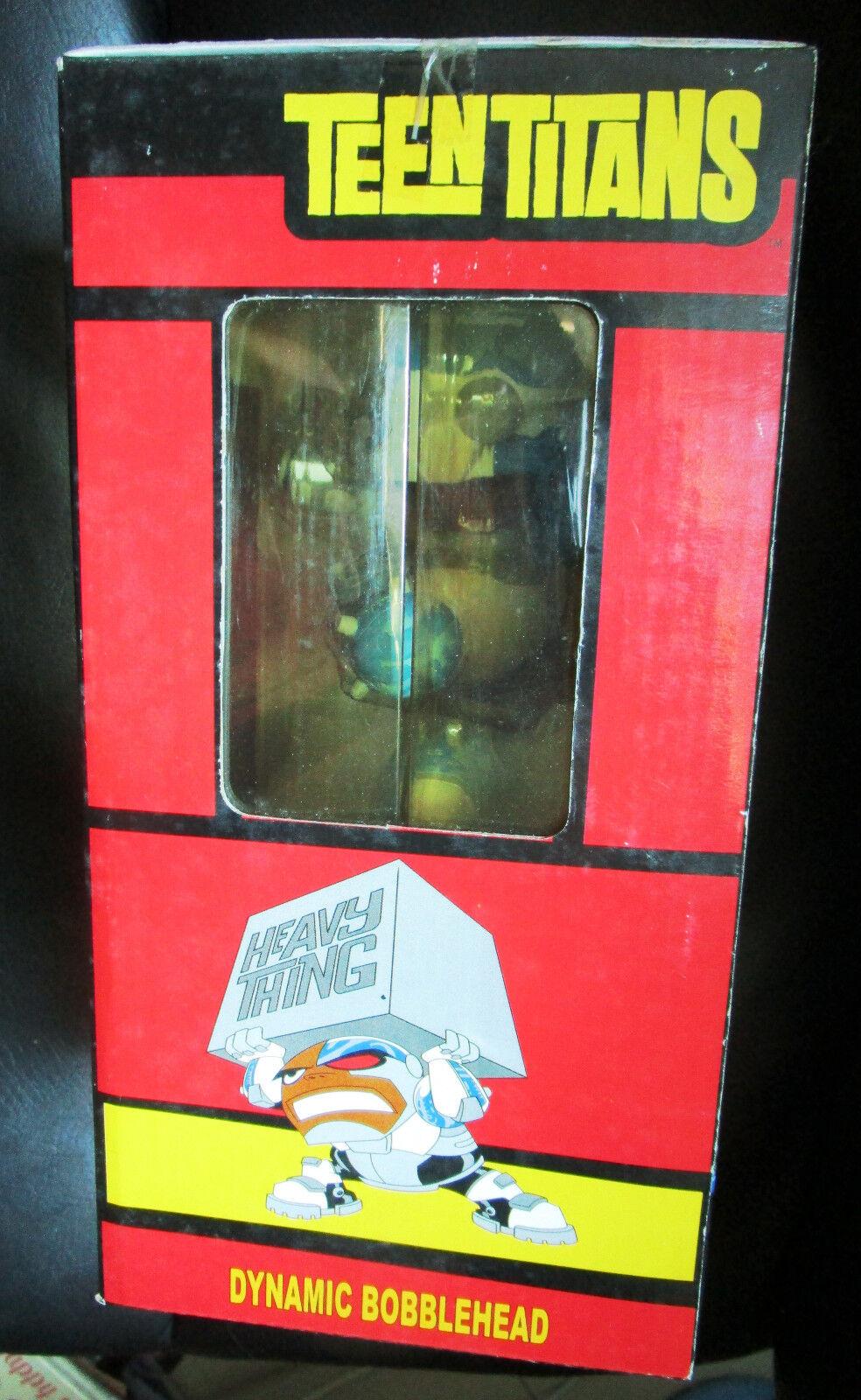 2005 Teen Titans Go Go Go CYBORG BobbleHead Figure 8.5  MOC Brand new Monogram sealed afe4ea