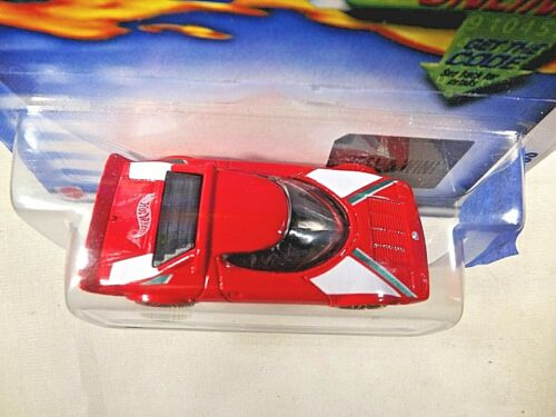 2002 Hot Wheels #37 First Editions 25//42 LANCIA STRATOS Red w//Tampo w//GoldPr5Sp