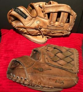 Vintage Youth Baseball Glove Mitt Lot of 2 Youth RHT ...