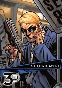 S-H-I-E-L-D-AGENT-Marvel-3D-Upper-Deck-2015-BASE-Trading-Card-19