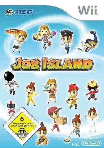 Nintendo Wii jeu - Job Island AL/ANG dans l'emballage utilisé