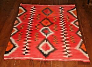 Image Is Loading Early Navajo Rug Chief 039 S Blanket Native