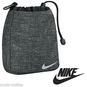 huge discount 2d799 6f362 Image is loading NEW-Nike-VALUABLES-POUCH-BLACK-SPORTS-SWOOSH-BAG-