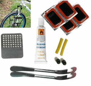 Vélo Pneu Tube Vélo Crevaison Correctifs Colle Réparation Outil Kit Cycle Puncher