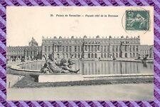 CPA 78 - Palacio de versailles - fachada côté de postal- la Terraza