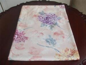 Chrysanthemum Floral Tablecloth Yellow Peach Mauve Purple
