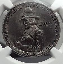 1920 Mayflower SHIP COMMEMORATIVE NGC Certified Silver Half Dollar Coin i58120
