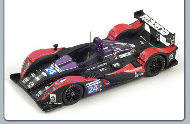 1 43 PESCAROLO Mazda OAK Racing Le Mans 24 hrs 2009  24 LMP2 3rd en classe