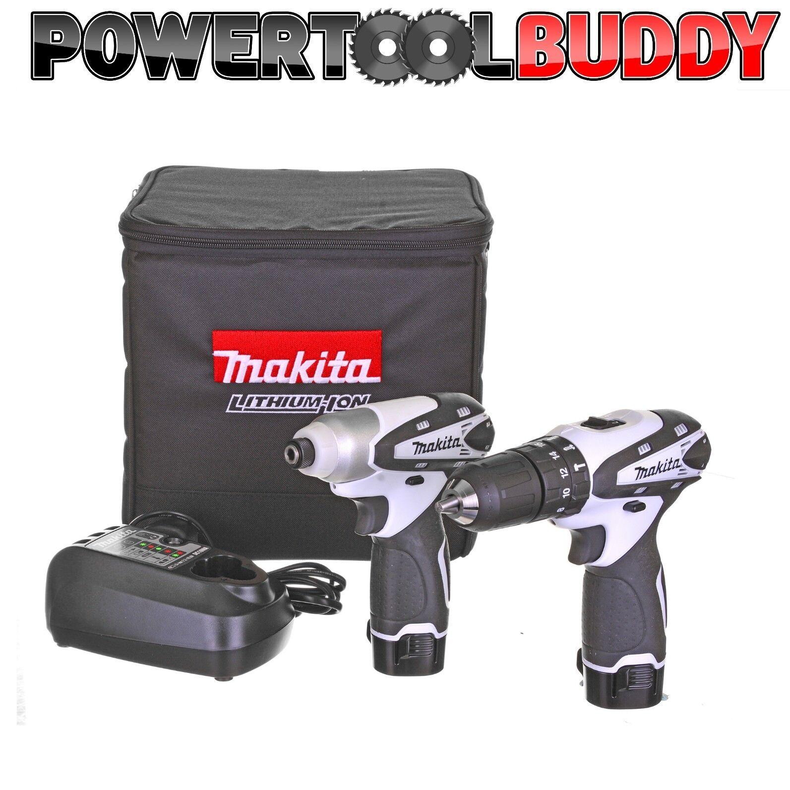 Makita DK1493WX 10.8volt Li-ion 2 Pc Cordless Drill Kit, Impact/Combi Drill