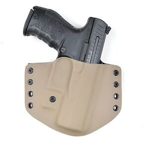 Details about Badger State Holsters- Walther PPQ 9/40 Flat Dark Earth OWB  Custom Kydex Holster