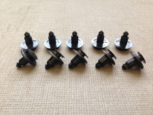 10x CITROEN PUSH DOOR corpo Paraurti Trim Clip 6-8mm