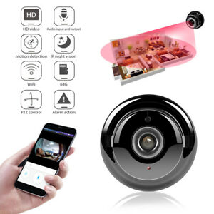 Camara-de-Seguridad-HD-1080P-Mini-Camara-Espia-Video-IP-WiFi-Inalambrica-vision-nocturna-DV-DVR