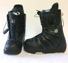 Burton Womens Mint Snowboard Boots Black and White Size 6.5 NEW