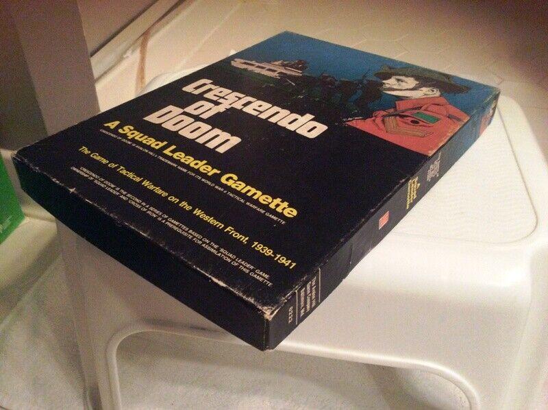 Avalon Hill, Crescendo of Doom, PP; Squad Leader series; Bonus  extra scenarios