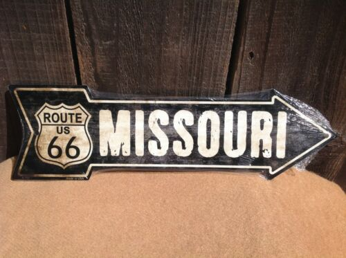"""Farm House This Way To Arrow Sign Directional Novelty Metal 17/"""" x 5/"""""""
