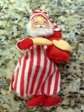 Vintage Annalee Dolls 1963 Santa Claus Christmas Collectible