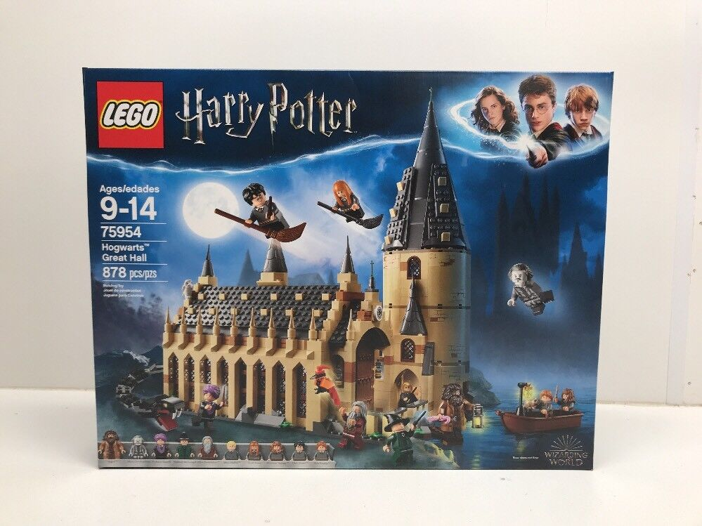 New Neuf dans sa boîte LEGO Harry Potter 75954 Hogwarts Great Hall en main Neuf Factory sealed