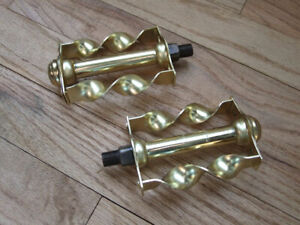 Cruiser Bicycles New 140mm Gold Lowrider Bike Twisted One Piece Crank 5-1//2/""