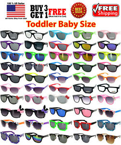5a912bf0da7 Image is loading KIDS-TODDLER-BOYS-GIRLS-MULTI-COLORS-CLASSIC-RETRO-