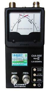 Comet-CAA-500-Mark-II-1-8-500-MHZ-Graphic-Antenna-Analyzer-FREE-CARRY-CASE-FS