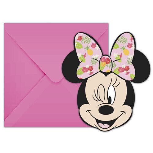 Minnie Mouse Tropical Shaped
