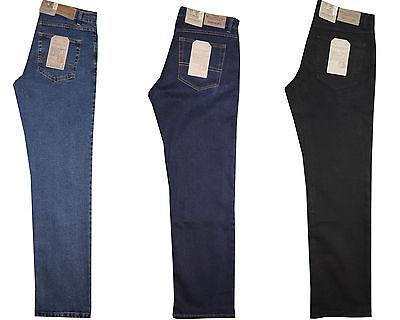 STOOKER ROUNDER FALCO Herren Stretch Jeans Hose TOPANGEBOT(Blue Black,W40,L32)