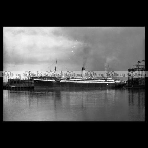 WHITE STAR LINE 1909 PAQUEBOT OCEAN LINER #php.00351 SS MEGANTIC