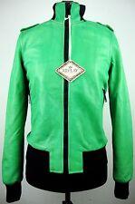 REPLAY Damen Jacke Leather Jacket Lederjacke Bikerstyle Gr.S NEU mit ETIKETT