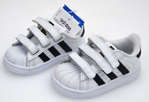 promo code ff420 e9d48 Image is loading Adidas-Junior-Child-Shoe-Sneaker-Casual-b23637-SUPERSTAR-