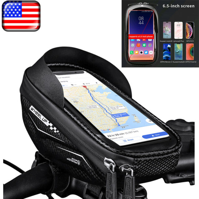 Waterproof Bicycle Bike 6 inch Mount Universal Phone Holder Case Bag Pouch Cover
