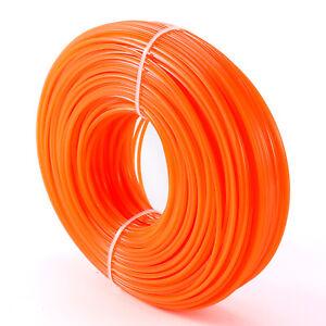 Refill-Heavy-Duty-Nylon-Strimmer-Line-Brushcutter-Cord-Wire-2-4mm-x-100m-Orange