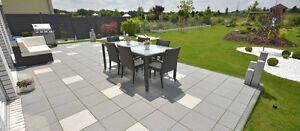 Kann Terrassenplatten Fiori Geschliffen Oder Geschliffen Gestrahlt