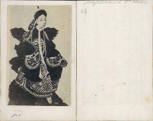 Imperatrice-de-Chine-CDV-vintage-albumen-carte-de-visite-d-039-apres-un-de