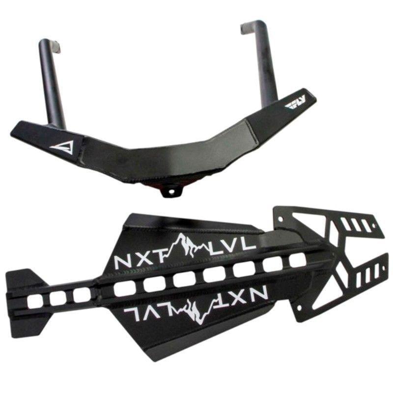 Polaris 2010-2016 Pro RMK Rush Skinz NXT LVL Front Bumper White /& Black