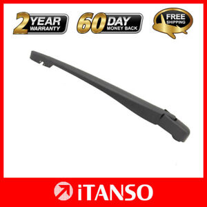 Rear Wiper Arm Back Windshield Fit For Opel Corsa D 2006-2015 14in Without Blade