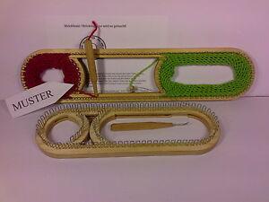 das bild wird geladen 88 strickrahmen m verstellbar strickring strickstab strickliesel knitting - Strickliesel Muster