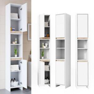Mobile bagno colonna design moderno armadio armadietto for Armadio bagno bianco