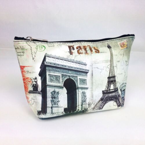 Kosmetiktasche Arc de Triomphe Eiffelturm Paris France Beauty Case Makeup Bag