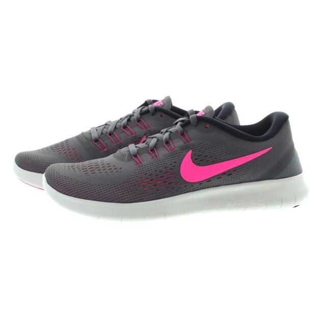bd7b6f120235 Buy Womens Nike RN Running Shoes Dark Grey pink Blast All Sizes 9 ...