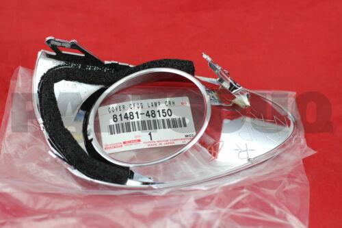 FOG LAMP RH 81481-48150 8148148150 Genuine Toyota COVER